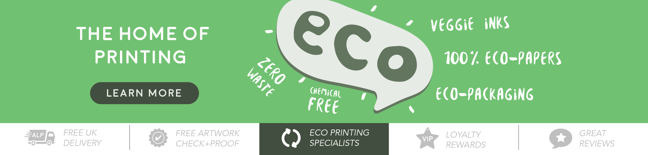Eco Printing with A Local Printer Ltd