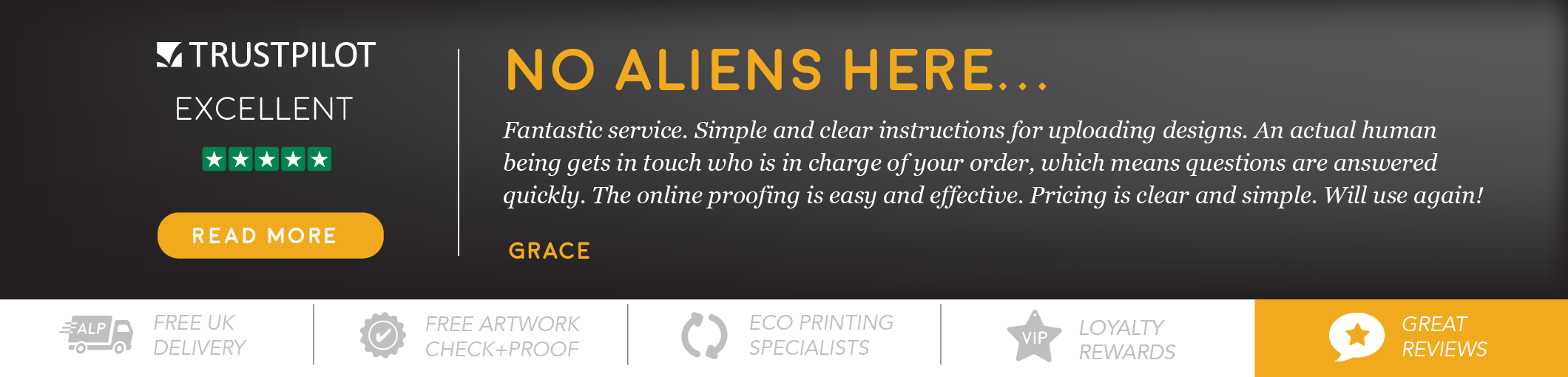 We're your trusted eco printer