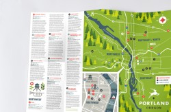 Cross Folded Leaflet Printing
