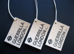 kraft printed swing tags