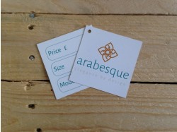 Square swing tags