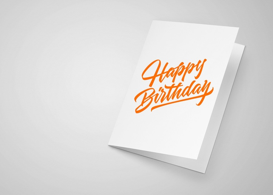 Neon greeting cards printing in 3 hot colours a local printer custom neon greeting card printing m4hsunfo