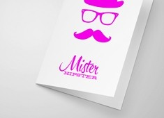 Neon Greeting Card Printing