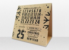 Kraft Advent Calendar