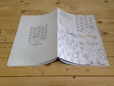 Custom colouring books