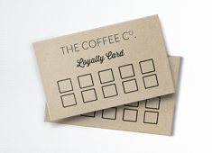 Kraft Loyalty Card Printing