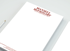Spot Colour Letterheads