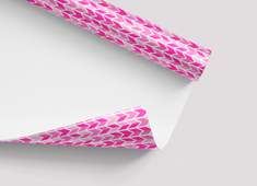 Neon wrapping paper printing