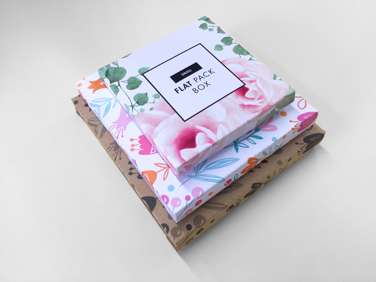 Flat Gift Boxes