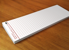 List Notepad Printing