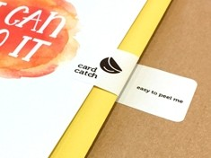 Printed Card Catch Stickers
