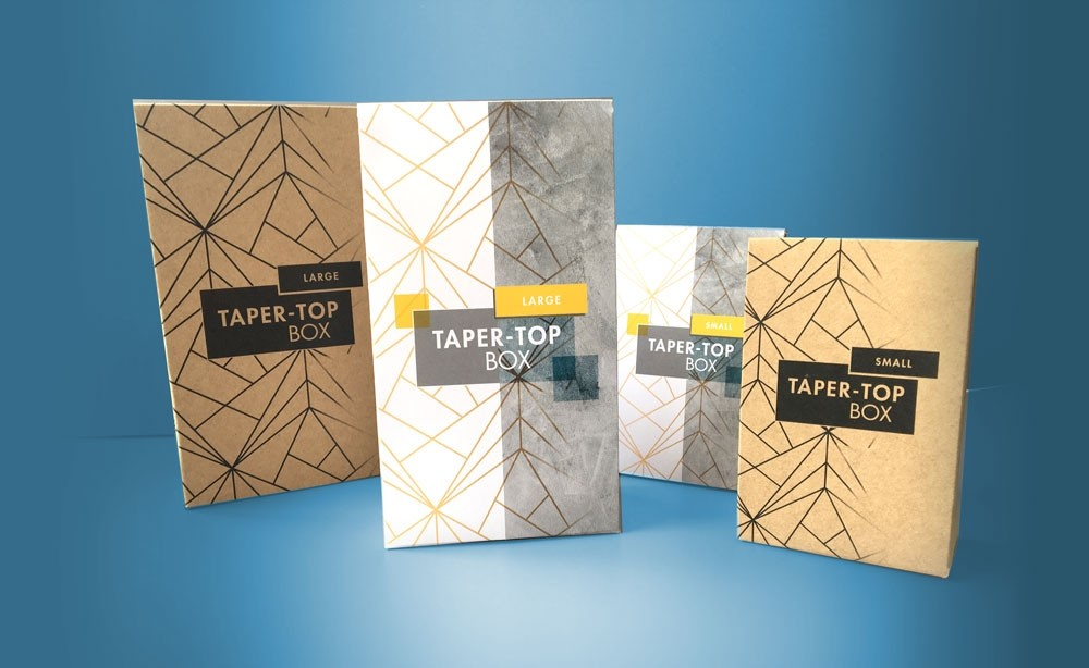Eco-packaging Taper Boxes