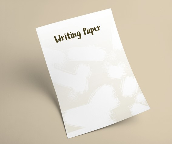 Printed writing paper sets