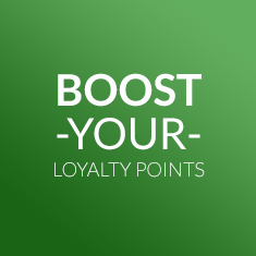 Boost your loyalty points