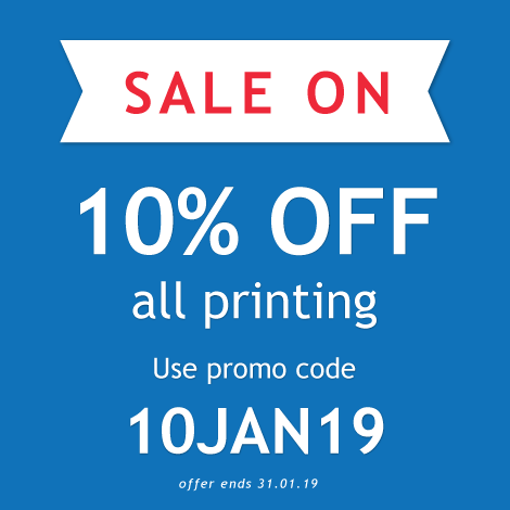 10% off in our January Sale