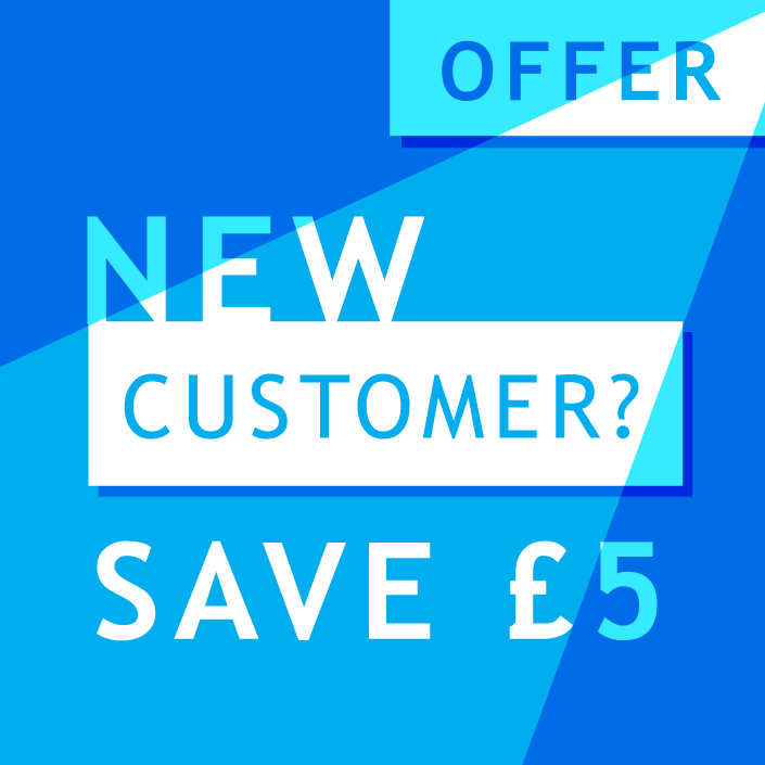 Save £5 on your first order