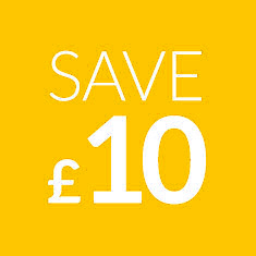 Save £10 on your first order