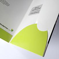 self assembly printed folders