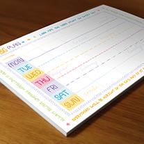 Weekly Planner Printing