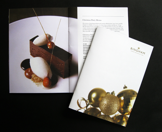 Christmas Printed Brochure
