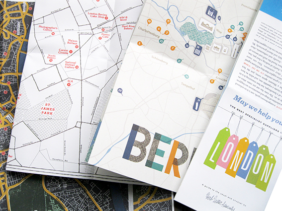 Map fold Leaflet Printing from A Local Printer