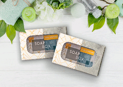 Eco-friendly soap box packaging