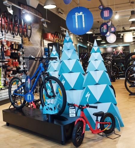 Christmas point of sale display