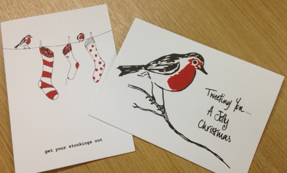 Christmas cards on Stonemarque