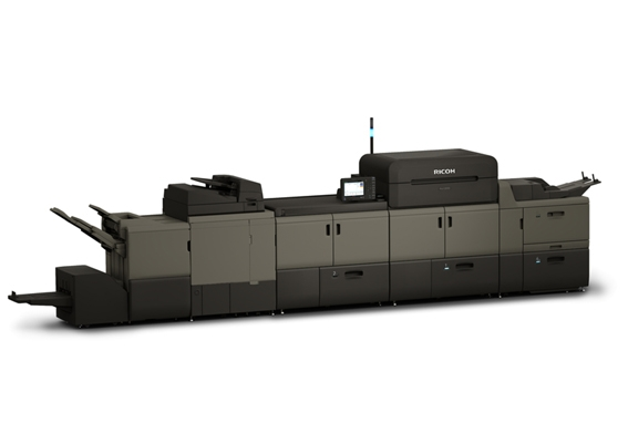 Ricoh colour digital press at A Local Printer