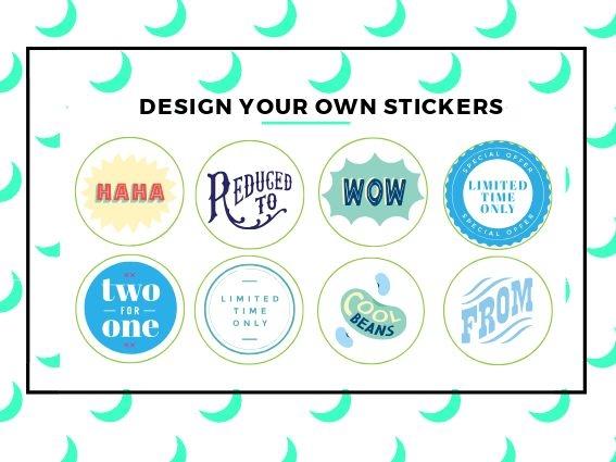 Bespoke sticker printing