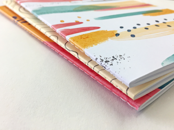 Singer Sewn Notebooks from A Local Printer